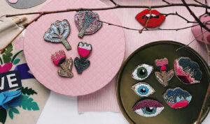 Где находит вдохновение для вышивки дизайнер Оля Кузнецова