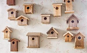 11 способов впустить птиц в интерьер