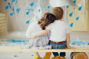 Грибной дождь: как сделать детскую фотосессию дома