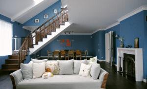Все оттенки синего в одной киевской квартире