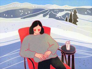 Где кататься на горных лыжах весной?
