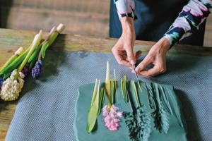 Мастер-класс: делаем ботанический барельеф