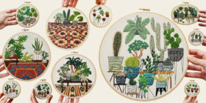 За пределы канвы: 10 современных вышивальщиц